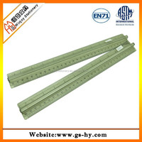 30cm hard plastic ruler with middle handle