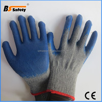 BSSAFETY factory price 2016 fishing latex gloves wholesale gloves china manufactures