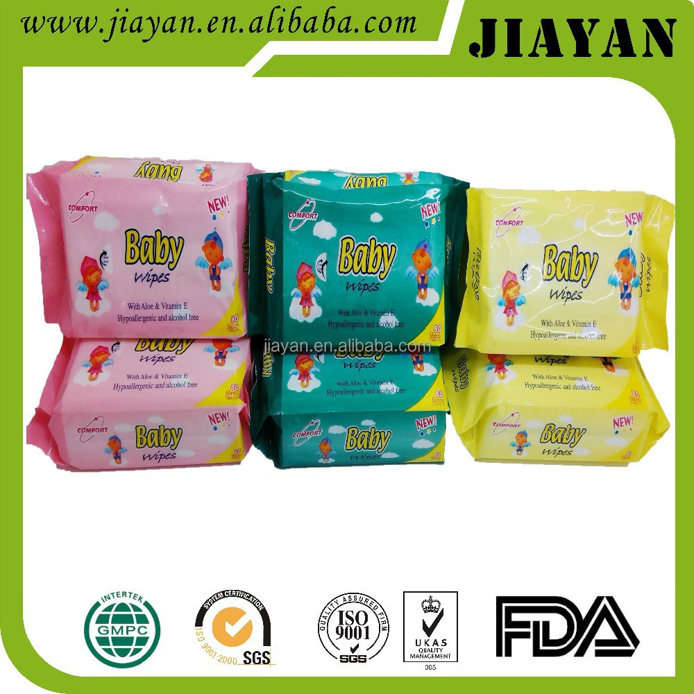 discount price 80pcs Baby cleaning wet tissue