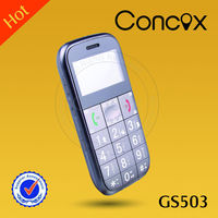 GPS tracker cell phone for seniors GS503