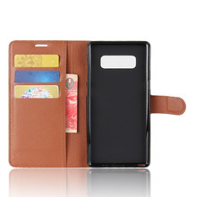 Leather Case For Samsung Galaxy Note 8 Case For Samsung Galaxy S4 S5 S6 S6 S7 Edge S8 Plus Note 8 Wallet Cover