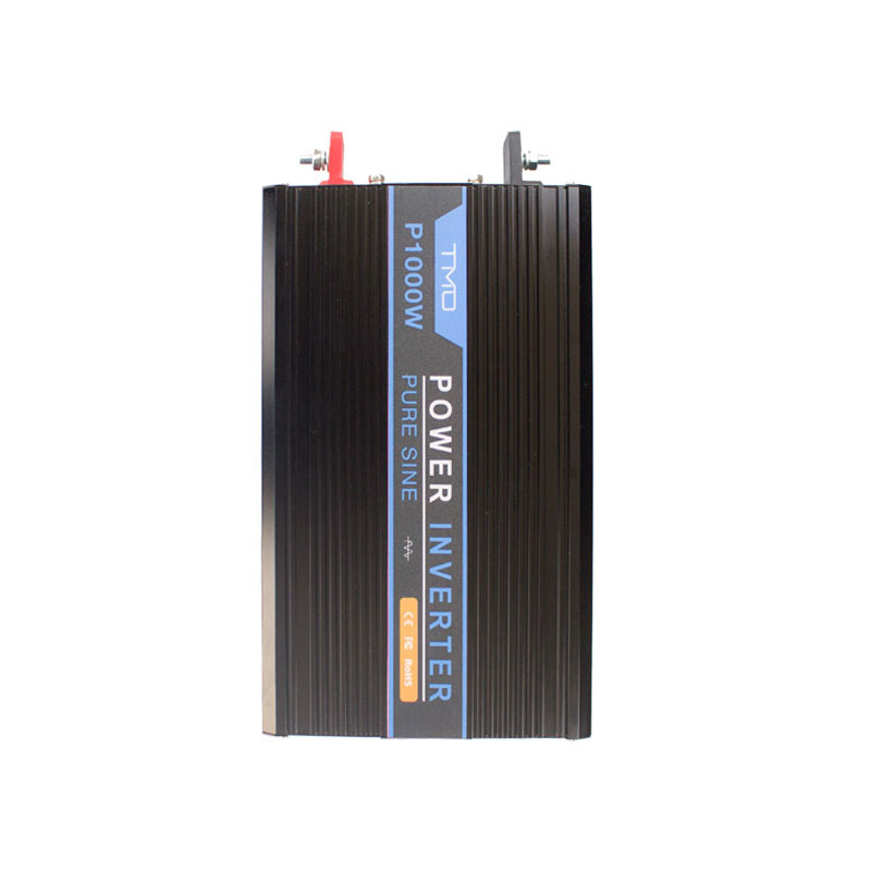 1000W 12V Off-Grid Pure-Sine Wave <strong>Battery</strong> Inverter w/ Cables