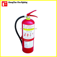 Good price 6kg abc fire extinguisher portable dry chemical powder fire extinguisher