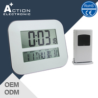 Modern Digital Wall Clock with Alarm Clock Wholesale