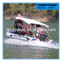 10ft 300cm 5 people cheap plastic fishing boat for sale