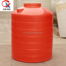 HOT!Food grade plastic water storage tower/water storage tank/plastic rainwater storage tank with lid wholesale