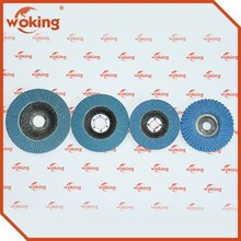 Zinc oxide flap disc for automobile paint removal industry grinding