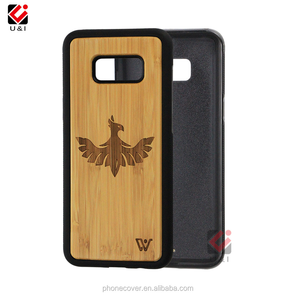 mobile phone accessories, bamboo wood phone case for Samsung S8, for Note 8