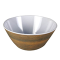 Melamine is hassle free 6'' round shape customized printing melamine salad cereal bowls