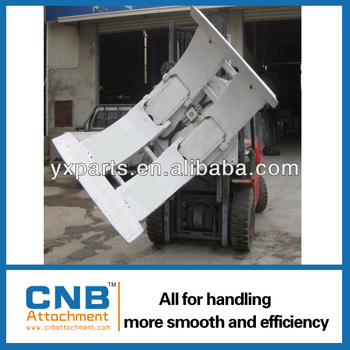 China Forklift Attachment Paper Roll Clamp