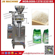 PLC Controlled Fully Auto granules packing machine for sugar with rotary type cup dosing