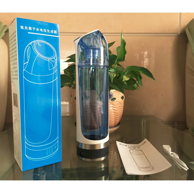 Portable Hydrogen Water Generator/Maker/Bottle