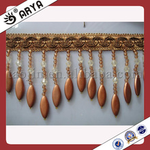Cheap Beaded Fringe Trim,for Lampshade,Home Textile