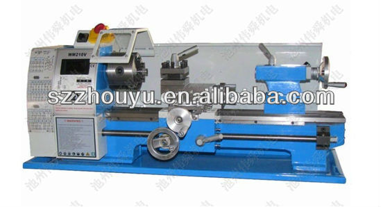 Micro metal lathe with good quality M10004 for metal working