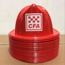 Fire Chief Party CFA plastic KIDS FIREMAN HAT