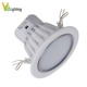 Extruded Aluminum Quality Radiator Round SMD&COB 4--10W LED Down Light Shell