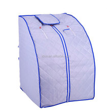 2017 Hot sale protable Folding Slimming Full Body Detox Portable Steam Sauna Room