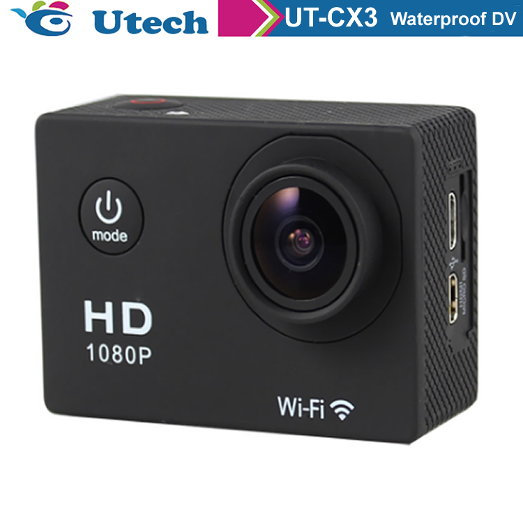 2018 New Style <strong>Wifi</strong> 4K Action Camera Sport Waterproof 720p Hd Sports Action Video Camera