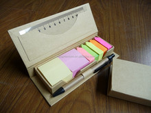 promotion cheap and popular eco-friendly sticky memo pad