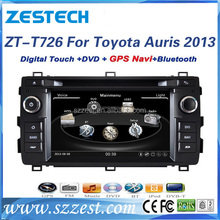 ZESTECH car audio navigation for Toyota auris 256 MB RAM with Radio,bluetooth,steering