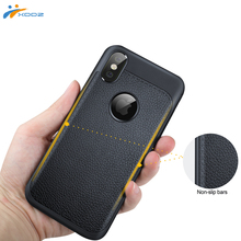 XDDZ New Arrival for iPhoneX 10 High Quality Leather Pattern TPU Shockproof Case, for iPhone X Case