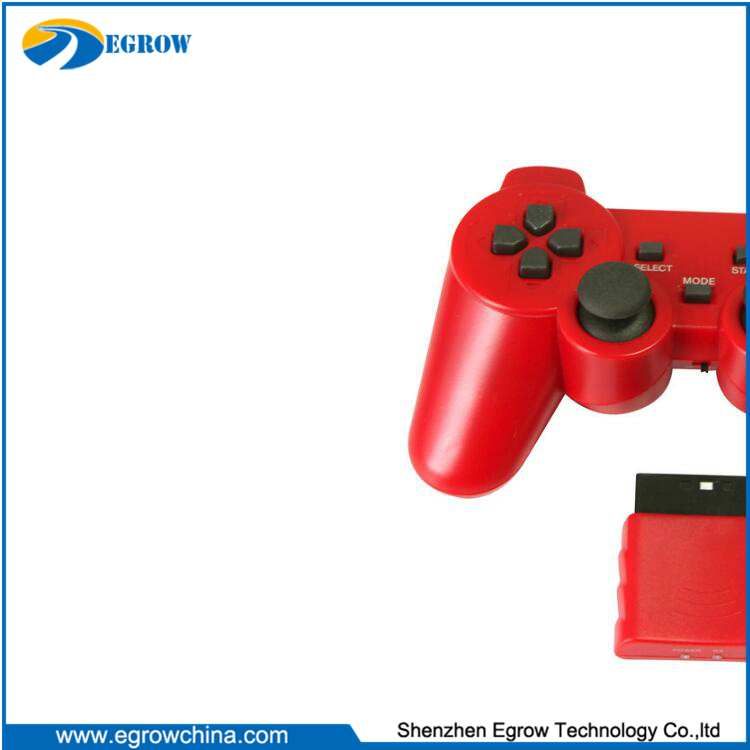 wireless Dual Vibration 2.4G RF Gamepad for ps2 controller