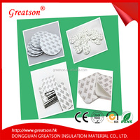 Popular Promotional Acrylic Adhesive Custom Round Foam Sticker double side die cut tape