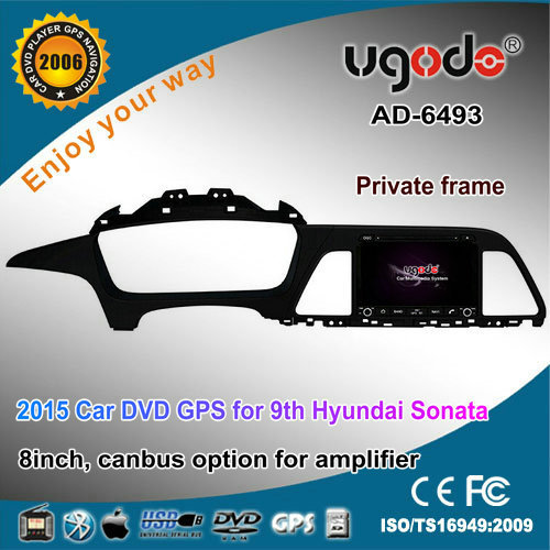 For Hyundai sonata digital touch screen car radio 2015 left hand drive with DVD GPS radio bluetooth