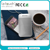 2016 New 2in1 bluetooth speaker with Power bank 5000mAh for mobile phone