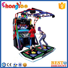 Coin Operated Dancing Game Machine Indoor Amusement Center 2015 Hot Sale