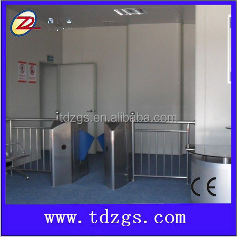 entrance security solutions access control flap barrier gate ticket counter machine