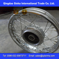 36 hole chrome steel motorcycle rim