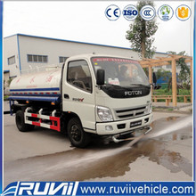 Chinese 2016 Price 10 cubic meters New 10000 liter /5000 litre / 8000 liters Water Tank Truck