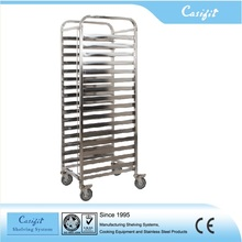 Hotel Professional stainless steel bakery bread racks / baking equipment bakery cooling rack trolley