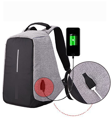 2017 innovative anti theft traveling laptop backpack with usb charger