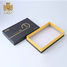 Luxury Custom Black Lid And Base Mooncake Food Packaging Box
