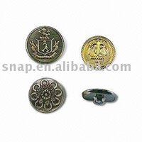 Sewing Brass Cover Buttons