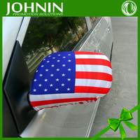 Sublimation Printing Polyester Material Car American Flag Socks