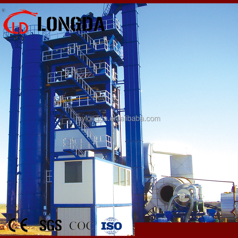 Asphalt batch mix plant 200TPH, asphalt mixing plant for sale