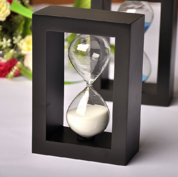 Fashion home decoration hourglass sand timer