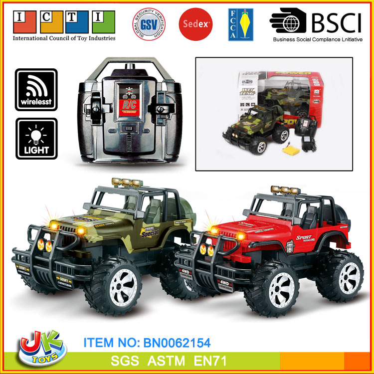 1 14 scale remote control car Four Wheel Drive RC car toys
