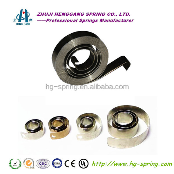 Stainless steel constant force spring with competitive price
