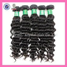 XBL Virgin 5A Hair Factory Wholesale Loose Deep Wave Hair Bulk