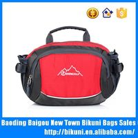 Wholesales online outdoor colorful nylon sport handbag for teens cheap small cute comping waist bags