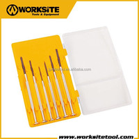 WT8011 Worksite Brand Hand Tools 6Pcs Precision Screwdriver Set