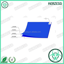 Cleanroom sticky mat / antistatic disposable sticky mat