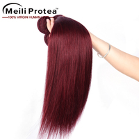 Alibaba express color 99j hair weave red braiding brazilian hair copper red hair weave