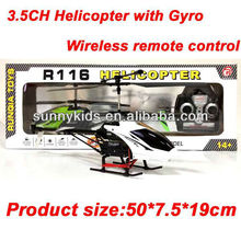 rc gyro helicopter RC 3.5CH Gyro helicopter R116