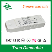 dc 30v led drivers 70w 1500mA ce saa dimmable constant current single output led driver