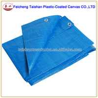 high quality blue PE tarpaulin sheet for cover